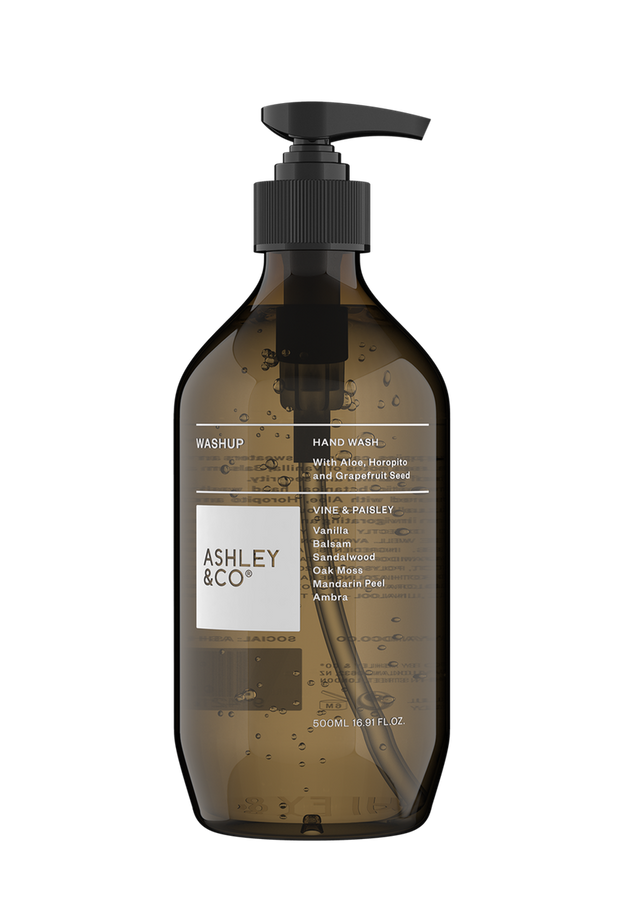 Ashley & Co. - Washup Botanical Hand Wash: Vine & Paisley