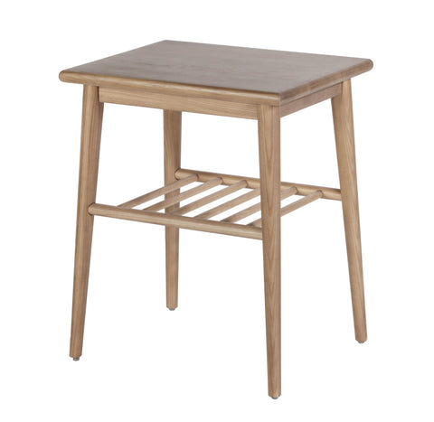 Jackie Ash Wood Side Table