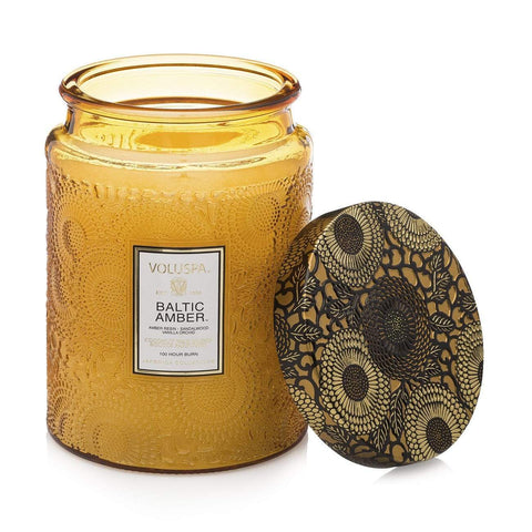 Voluspa - Baltic Amber 100hr Candle
