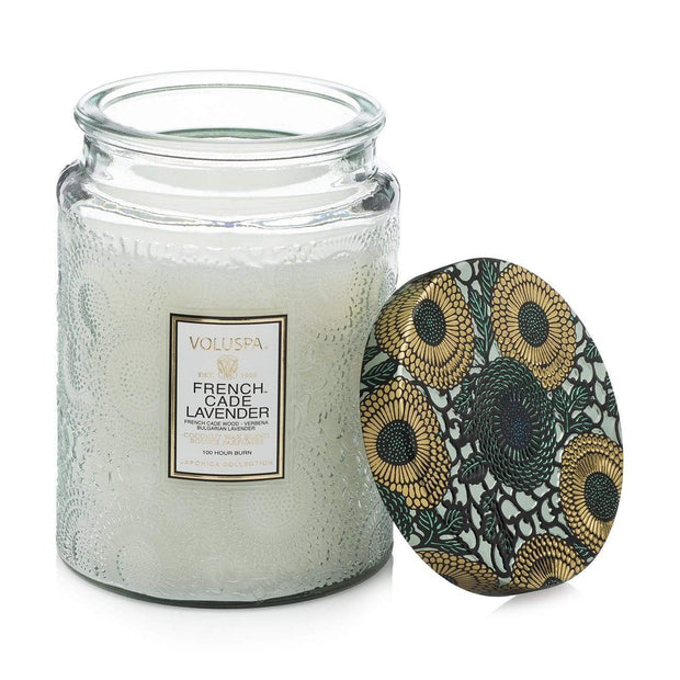Voluspa - French Cade & Lavender 100hr Candle