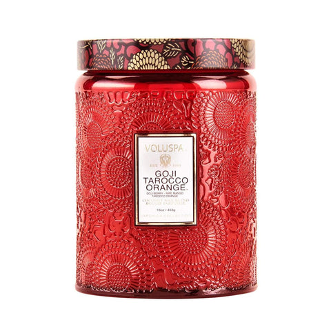 Voluspa - Goji Tarocco Orange 100hr Candle