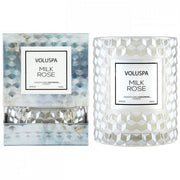Voluspa Icon Cloche Candle-Candles-Voluspa-Milk Rose-OPUS Design