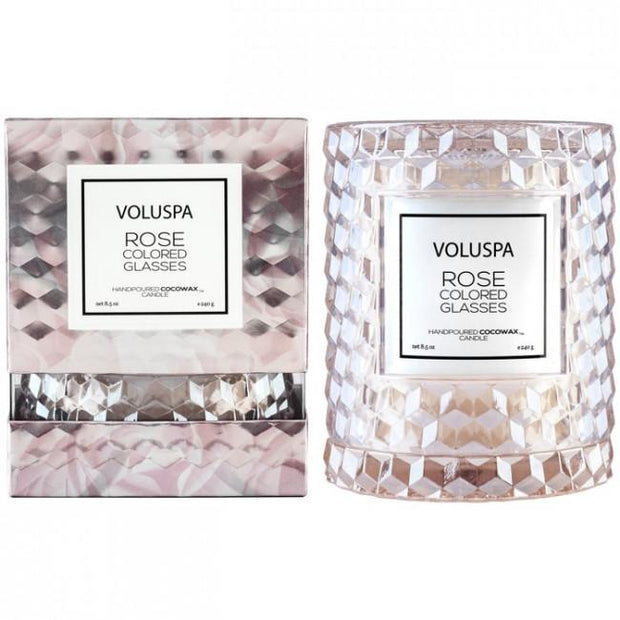 Voluspa Icon Cloche Candle-Candles-Voluspa-Rose Coloured Glasses-OPUS Design