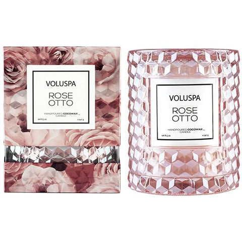 Voluspa Icon Cloche Candle-Candles-Voluspa-Rose Otto-OPUS Design