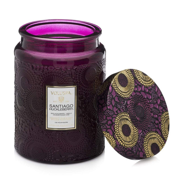 Voluspa - Santiago Huckleberry 100hr Candle