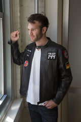 "LIMITED EDITION - Polizei 144 Men's ""PATROL"" Leather Motojacket"