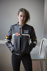 "LIMITED EDITION - Polizei 144 Women's ""RAPIDE"" Leather Motojacket"