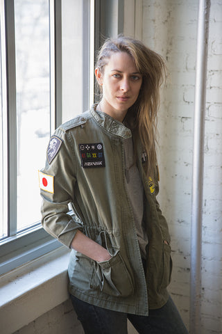 "Polizei 144 Women's Army ""DISPATCH"" Jacket"