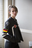 "Polizei 144 Women's Black ""RAPIDE"" Motojacket"