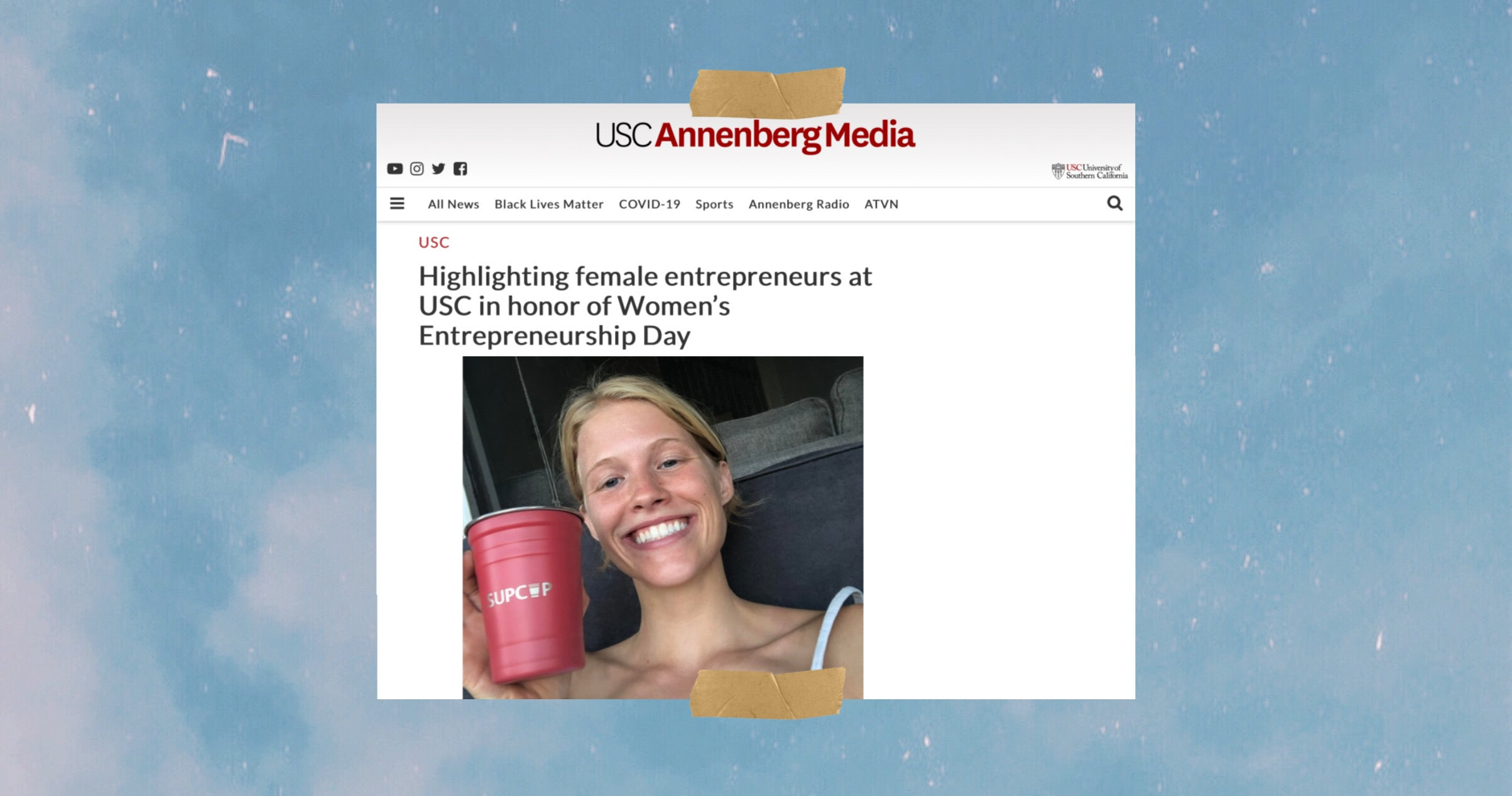 USC Annenberg Daphne Armstrong Female Sustainable Entreprenuer