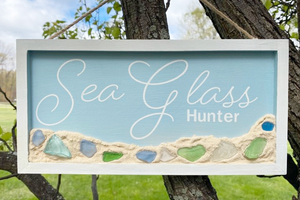 Making and adding a sand texture to your wood signs
