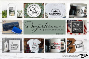 Dezartisan 75 Designs from 2019 SVG | DXF for Cricut & Silhouette