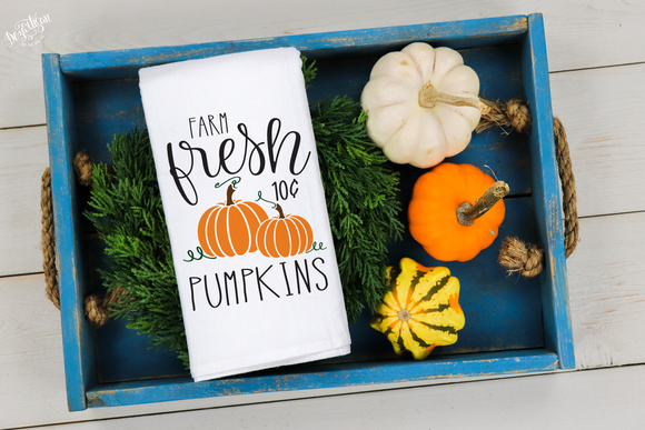 Farm Fresh Pumpkins 10 cents  Premium Cut File for your Cricut & Silhouette Cutting Machines. File Formats are SVG | DXF | EPS | Ai