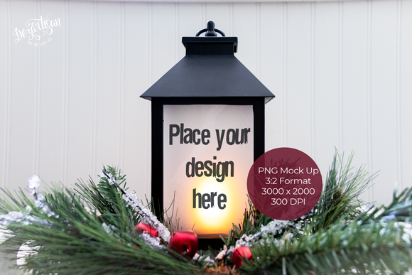 20DZA2036 Christmas Lantern Mock up