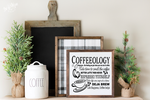 Coffeelogly SVG and DXF cut ready files for Cricut & Silhouette