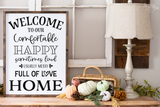 Welcome to our happy home SVG and DXF cut ready files for Cricut & Silhouette