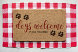 Doggie Doormat Bundle SVG and DXF cut ready files for Cricut & Silhouette