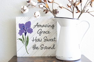 Amazing Grace Premium SVG and DXF cut ready files for Cricut & Silhouette