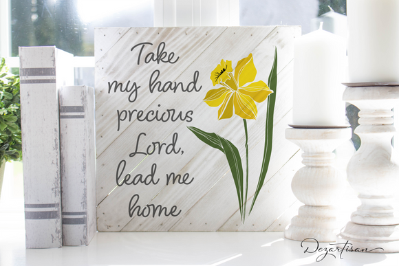 Take my hand Lord Premium SVG and DXF cut ready files for Cricut & Silhouette