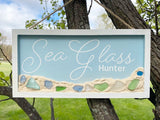 Sea Glass Hunter  Premium Cut file SVG | DXF  for Cricut and Silhouette Cutting Machines.