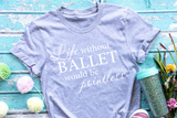 Life without Ballet is pointless Premium SVG | DXF Cricut & Silhouette Cut Files