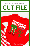 Celebrate your inner elf Premium Cut File for your Cricut & Silhouette Cutting Machines. File Formats are SVG | DXF | EPS | Ai