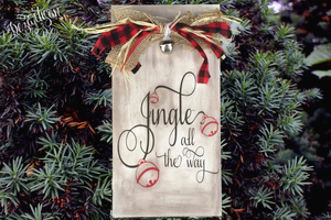 Jingle all the way Premium Cut File for your Cricut & Silhouette Cutting Machines. File Formats are SVG | DXF | EPS | Ai