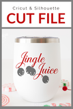 Jingle Juice Premium Cut File for your Cricut & Silhouette Cutting Machines. File Formats are SVG | DXF | EPS | Ai