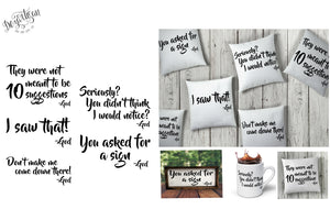 DZA0084 Messages from God Bundle SVG | DXF Cut Files for Cricut & Silhouette Cutting Machines