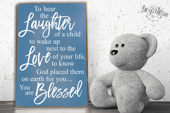 The Laughter of a child SVG | DXF Cricut Silhouette Cut Files