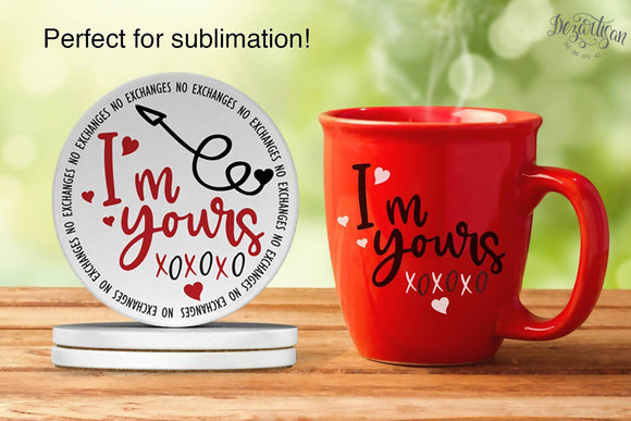 I'm yours no exchanges  SVG | DXF