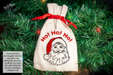 Santa Lump of Coal Premium Cut File for your Cricut & Silhouette Cutting Machines. File Formats are SVG | DXF | EPS | Ai