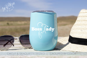 Boss Lady Fuel SVG | DXF for Cricut & Silhouette