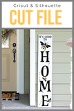 20DZA2009 Bee Home Welcome Premium Cut files for your Cricut or Silhouette Cutting Machines. File formats include SVG | DXF | EPS | Ai.