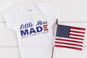 Little Mr Little Miss Made in the USA Premium SVG Cut File for your Cricut or Silhouttte Cutting Machines