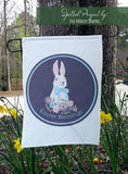 Easter Blessings Easter Bunny Cut File SVG | DXF for Cricut & Silhouette