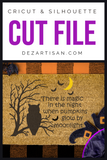 Premium Cut File Halloween there is magic in the night SVG | DXF for Cricut & Silhouette