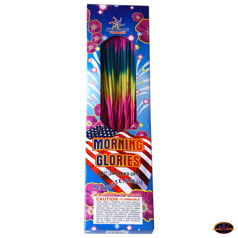 "14"" Morning Glory Sparkler 6 boxes / 36pcs Pack"
