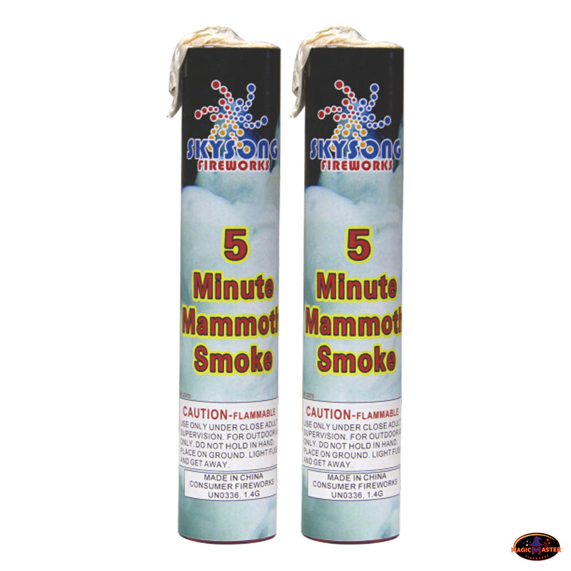 5 Minutes White Smoke Fountain 5 pcs Pack