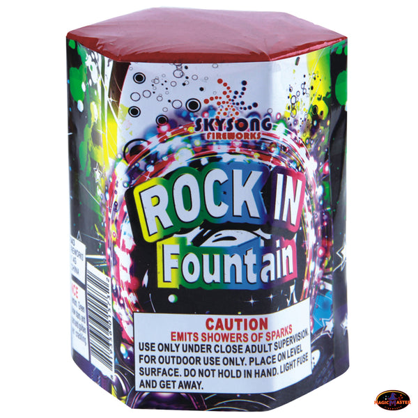 Rock In Fountain