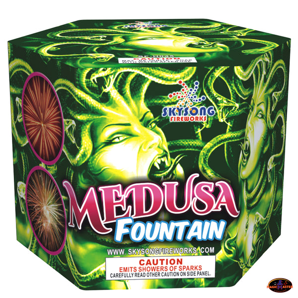 Medusa Fountain, 150 Seconds