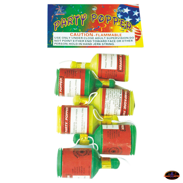 Party Popper 2 Bags / 12 pcs Pack