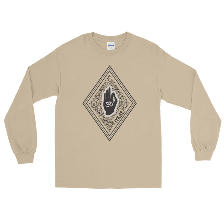 Big Diamond Long Sleeve T-Shirt (Sand)