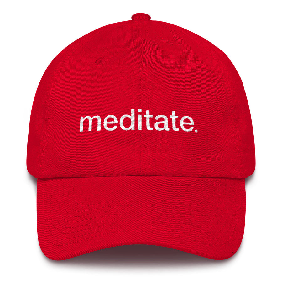 Meditate Cotton Cap