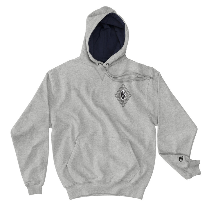 Diamond Light Grey Champion Hoodie