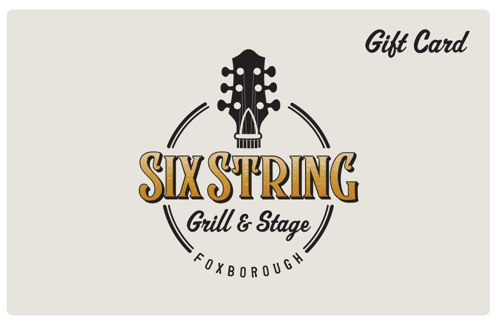 Six String Gift Card