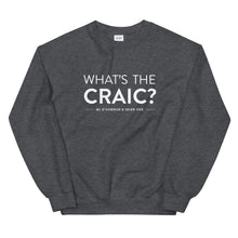 Load image into Gallery viewer, MJ O'Connor's What's The Craic? Crewneck