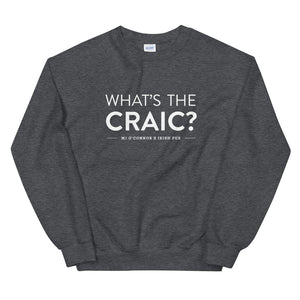 MJ O'Connor's What's The Craic? Crewneck