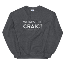Load image into Gallery viewer, Ned Devine's What's The Craic? Crewneck