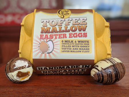Toffee Mallow Easter Eggs